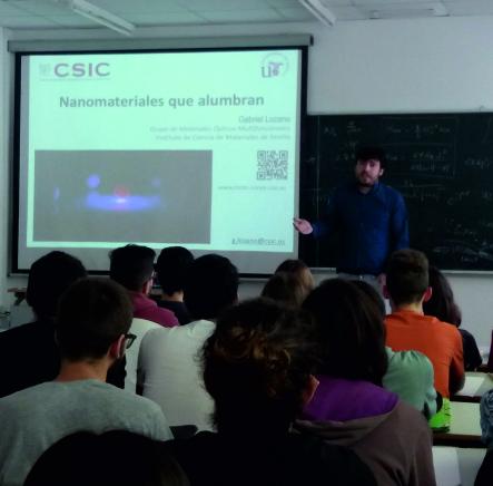 Charlas de Ciencia, Universidad de Córdoba, May 7, Córdoba (Spain)