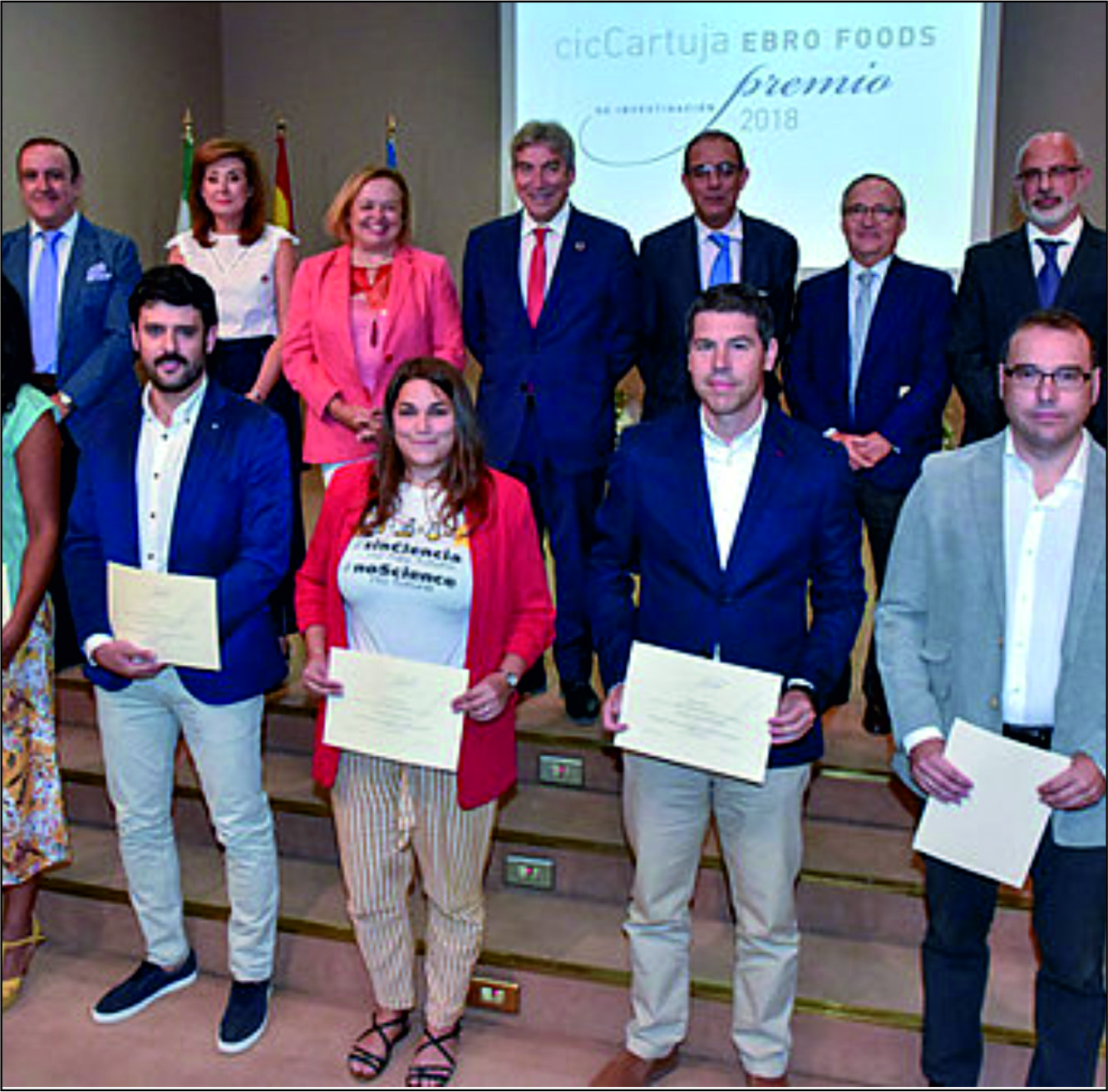 EbroFoods Prize. September 26, Sevilla (Spain)