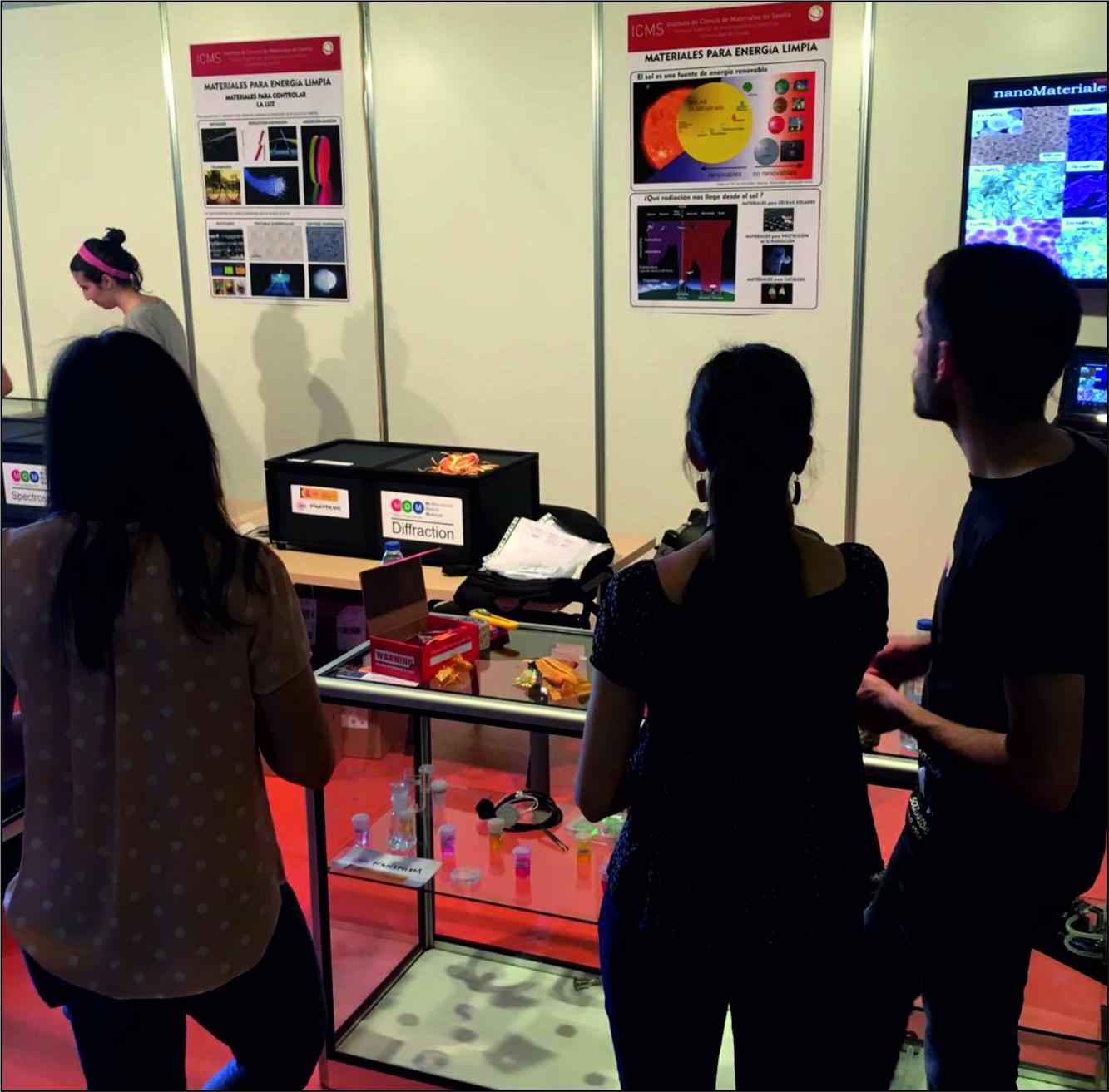 Feria de la Ciencia, Sociedad Andaluza para la Divulgación de la Ciencia y Fundación Descubre. May 16-19, Sevilla (Spain)