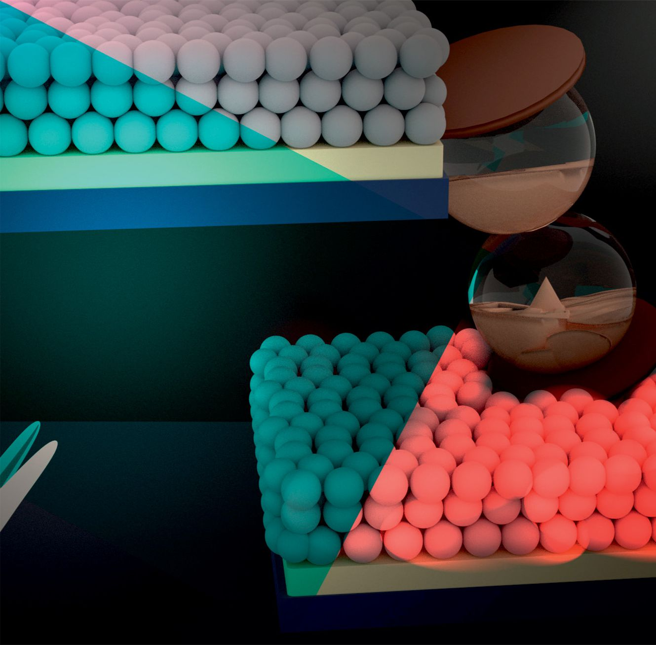 Persistent luminescence of transparent ZnGa2O4:Cr3+ thin films from colloidal nanoparticles of tunable size